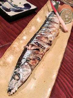 初秋刀魚〜♪