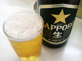 瓶ビールも良いものだ!