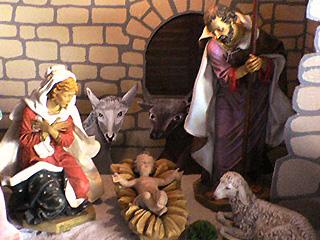 イエス様誕生の場面