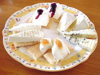 チーズの盛り合わせ♪
