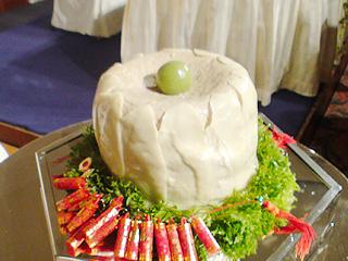 シウマイウエディングケーキ