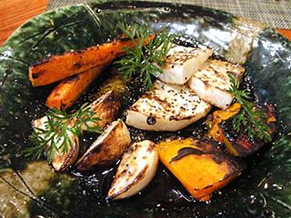 三浦野菜焼き