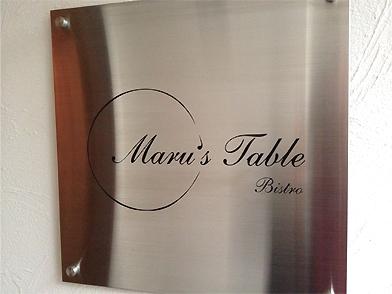 Maru's Table(マルズターブル)