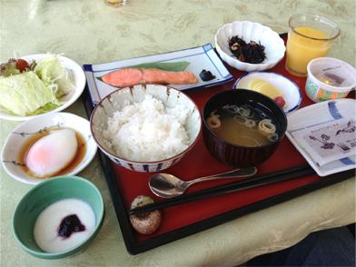 朝食@高峰高原ホテル